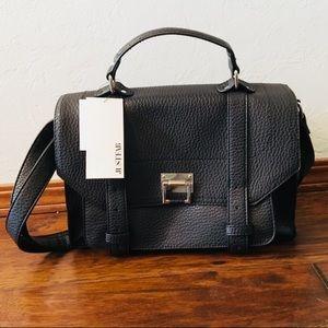 NWT Black JustFab Crossbody Bag